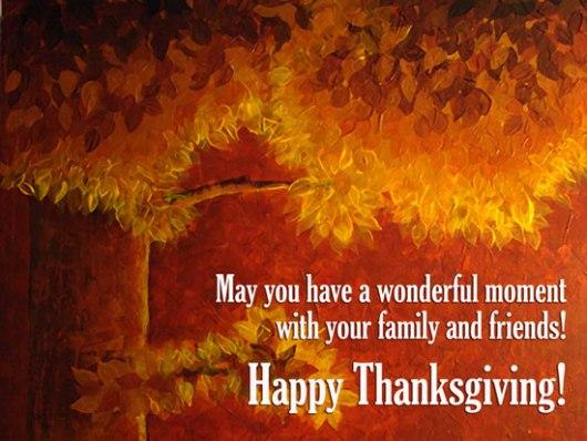 thanksgiving momrnt