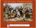 HAPPY THANKFULNESS